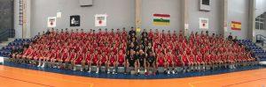 Participantes en el Turno 2 del Campus de Baloncesto Rafael Jofresa